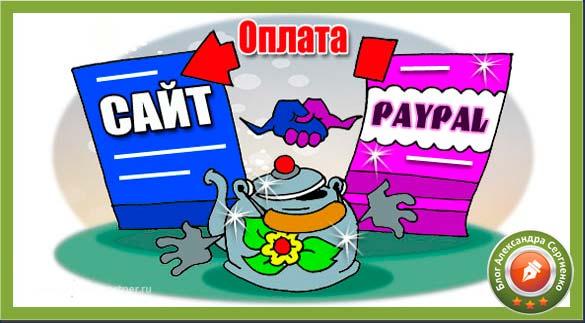 Как настроить оплату на сайте через paypal